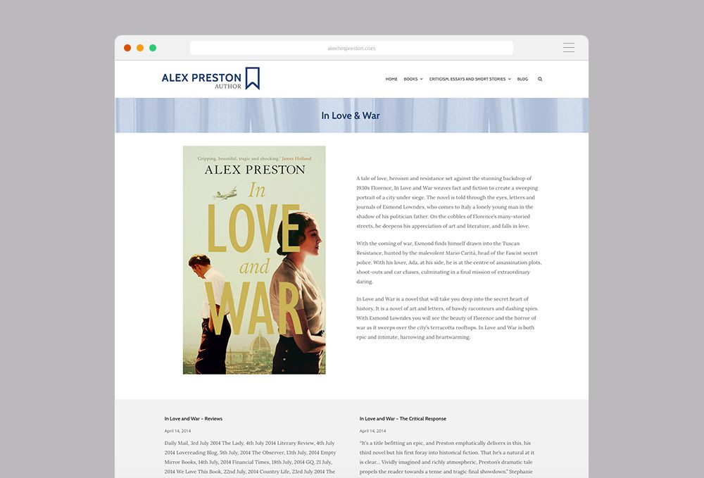 Alex Preston | Colourform